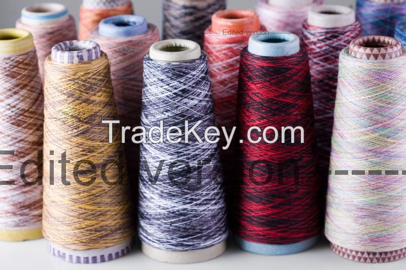 Mercerized and Dyed yarns