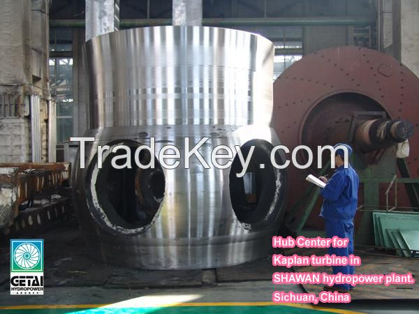 Getai Small Axial Flow Hydro Turbine
