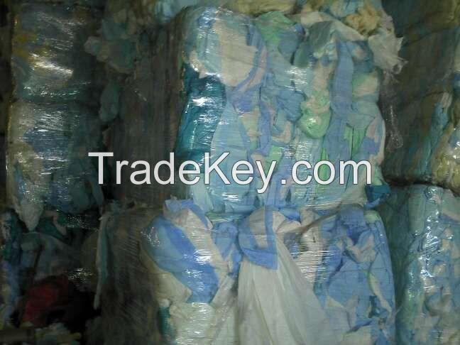 Scrap Underpads in Bales