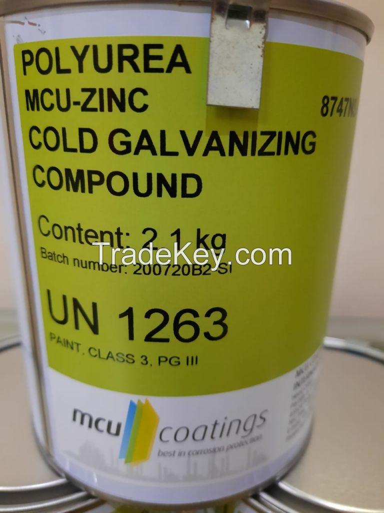Cold Galvanizing Compound (ZRC) (Zinc Rich Compound)