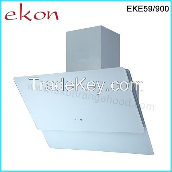 90cm New Design Super White Glass Kitchen Hood