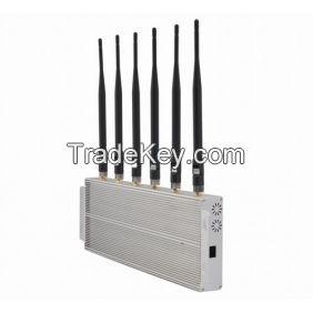 6 Bands 4G Cell Phone Jammer 4G Jammer 3G Jammer 2G Jammer
