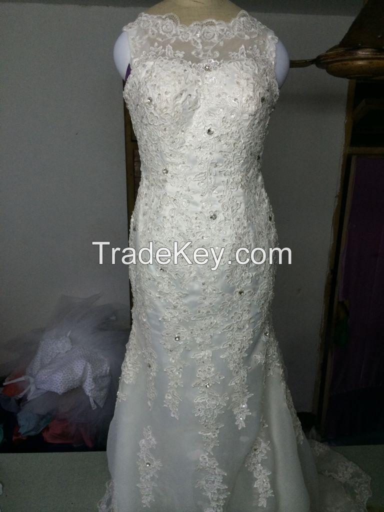Mermaid Wedding Dress Bridal Gown