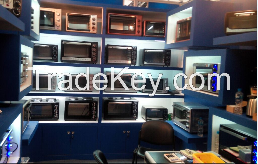 electric oven, toaster oven
