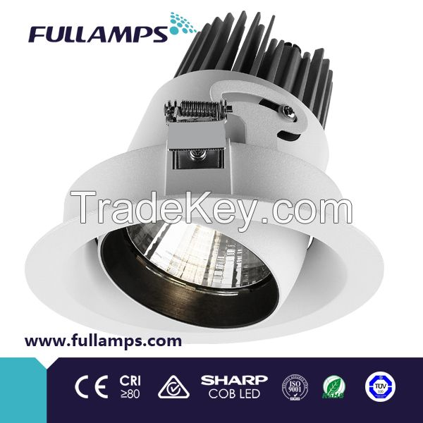 cob led downlight and led recessed grille light