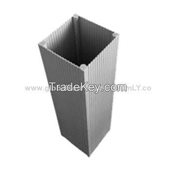 Industrial aluminum extrusion