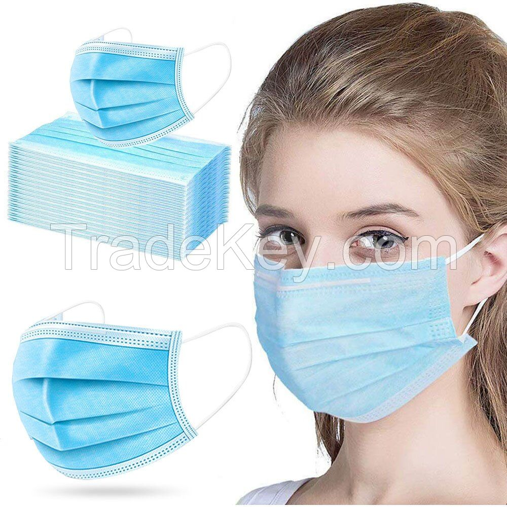 Disposable Medical 3ply Face Mask