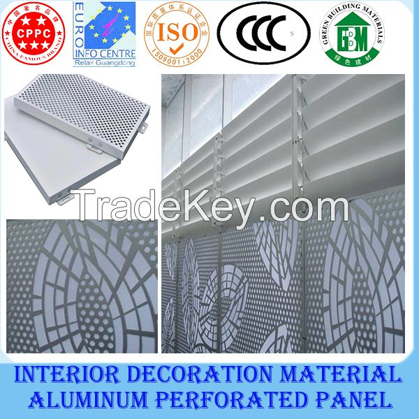 Aluminium square ceiling/perforated ceiling title