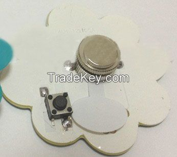 Supply Led Pin,Flashing Badge,Pin Badge Gift