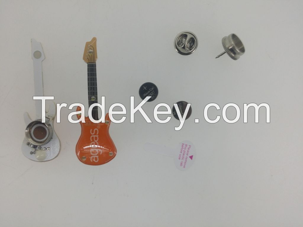 What's the best gift for promot? LED Pin,Flashing LED Pin,China badge pin