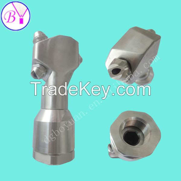 High Quality Metal 360 degree  rotating vessel tank washing water spray nozzles with professional factory manufacturer in China