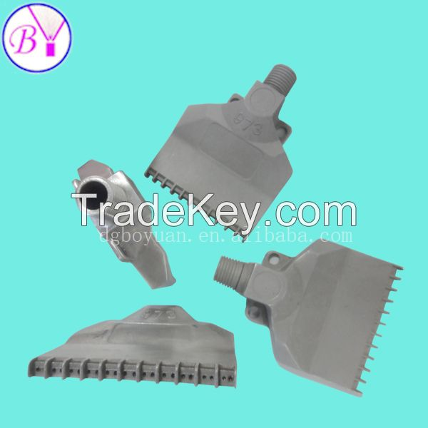 High energy efficiency air abs wind jet nozzle dongguan factory direct supplying