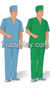 Uniforms, t-shirts and ladies fashion dresses