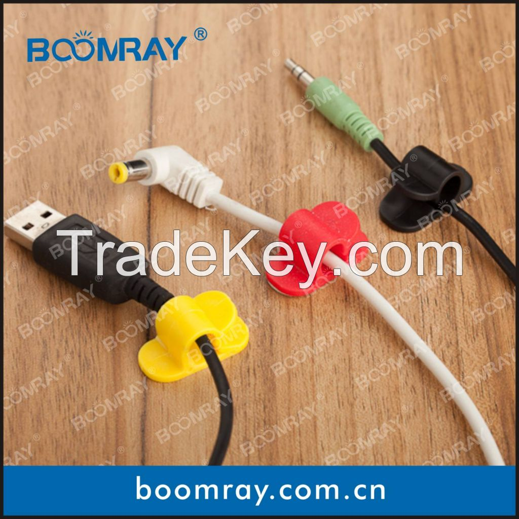 Boomray factory store 905 1pc PP cord clip cable tidy can wholesale