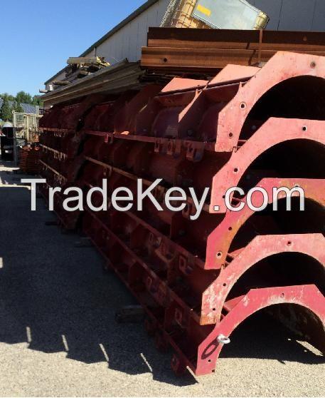 CONDOR Used Circular Metal Formwork - Circular Pillar
