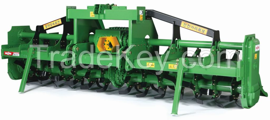 Rotavator(Rotary tiller, cultivator) Dual series for 150 ~ 270 HP Tractor