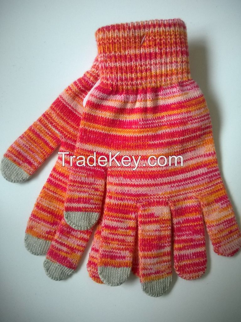 Touch screen gloves, ladies gloves, magic gloves