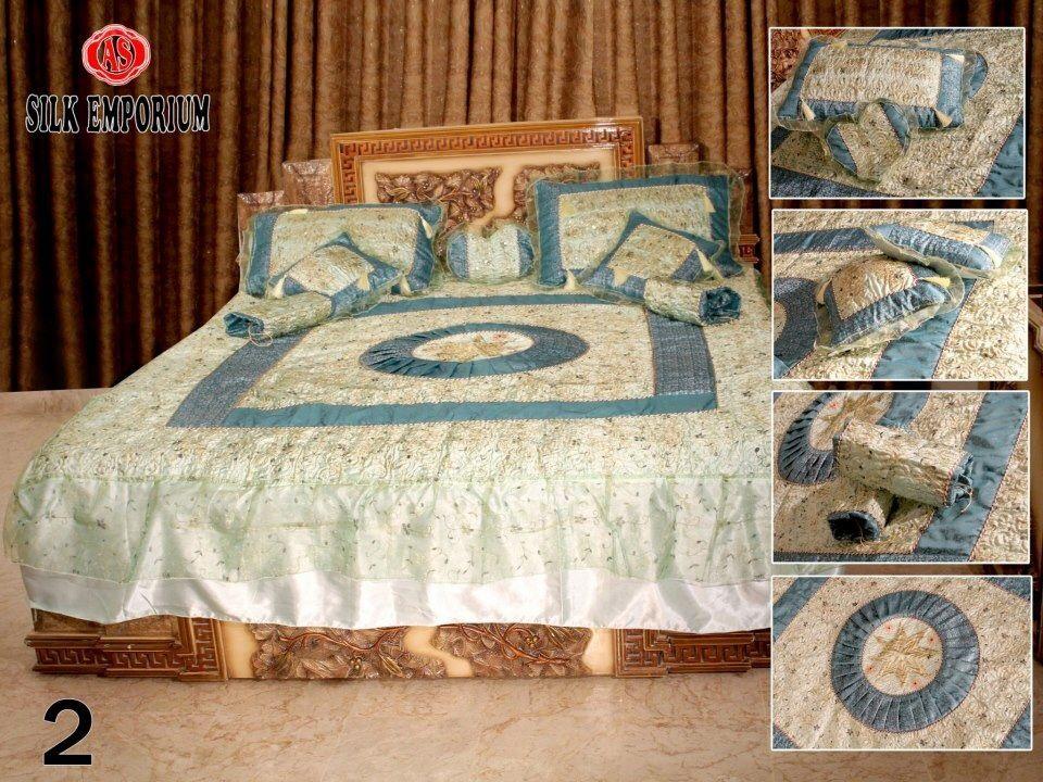 Silk emporium bedding