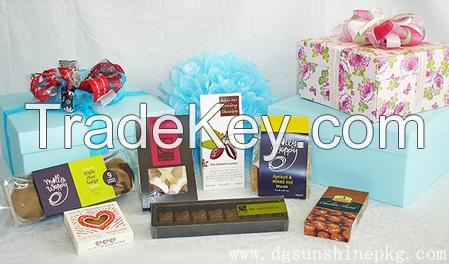 Fancy gift packaging box