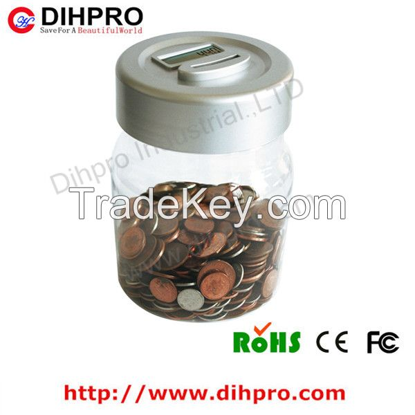 Hotsale Manual Plastic Digital piggy bank