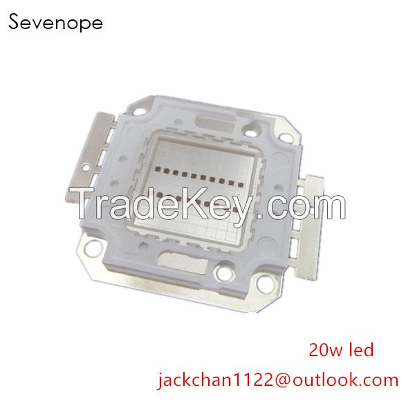 1W 3W 10W 20W 50W 100W 300W 500W 365nm 380nm 395nm 420nm Printer Painter UV Curing High Power LED Diode