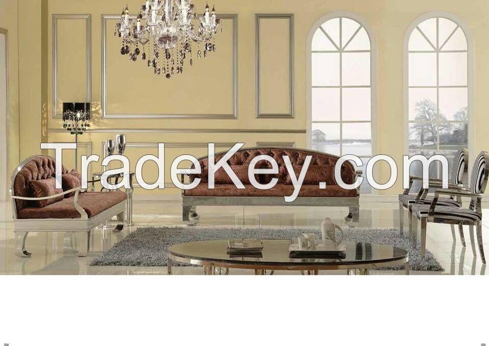 Stainless Metal Furnitures