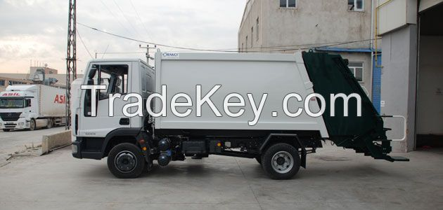 Small Series Hydraulic Pressed Garbage Body