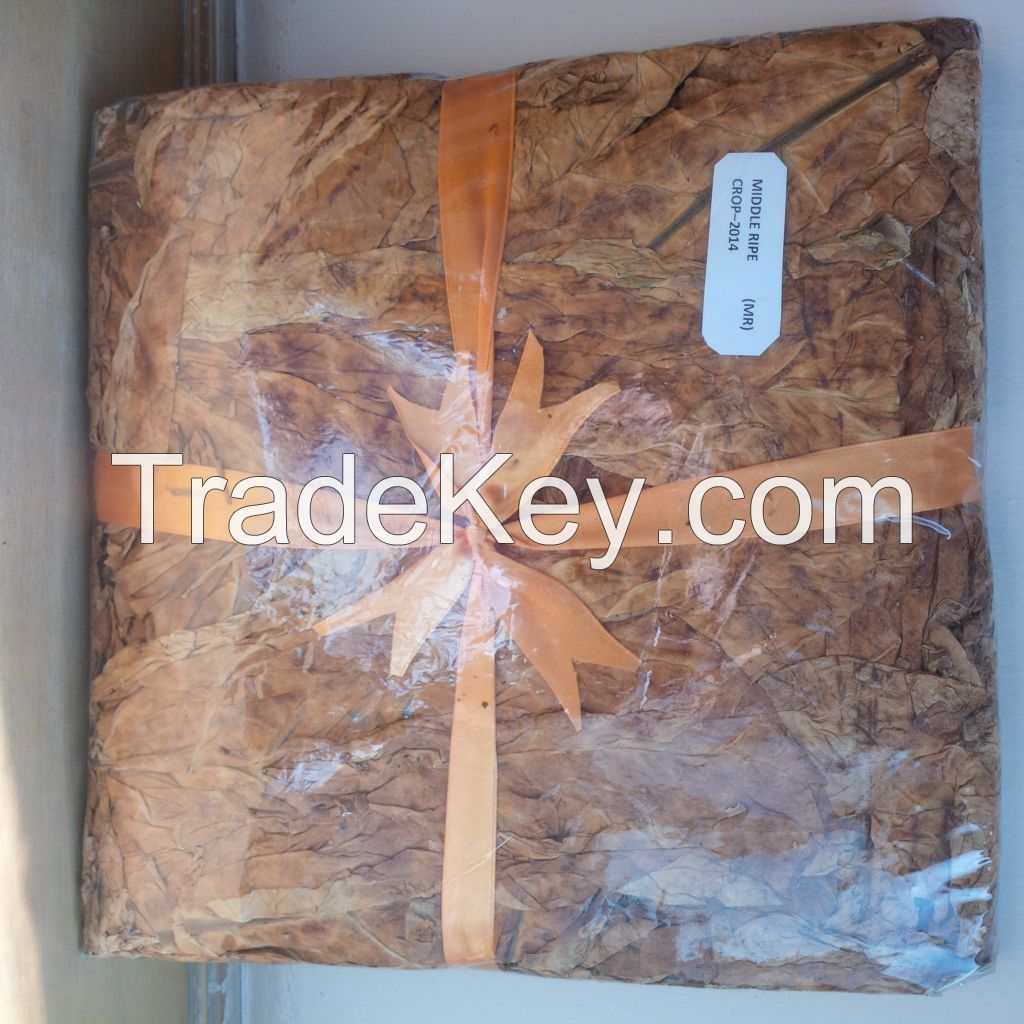 Flue Cured Virginia (FCV) Tobacco - Grade: PAK 6 MR (Middle Ripe)