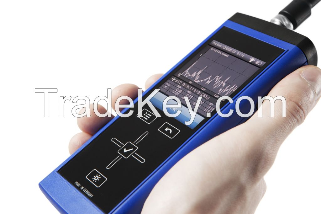 Handheld Device Lufft XA1000 for Measurement of Temperature,Humidity,Flow, Air pressure