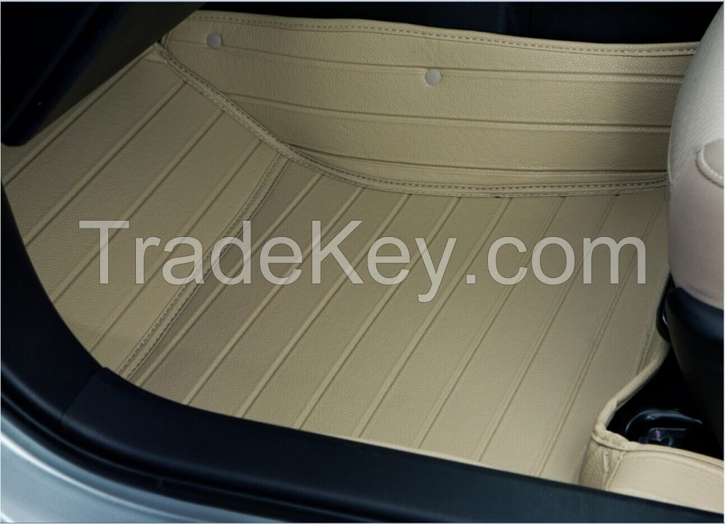 Completely covered car MATS