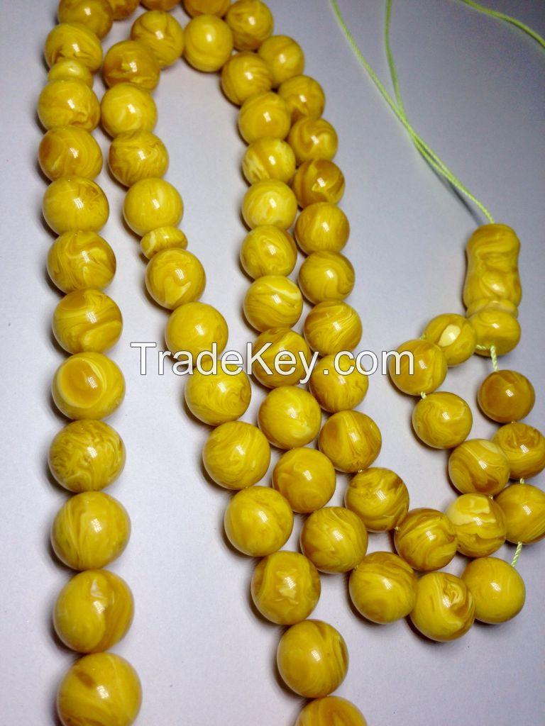 Amber beads tasbih rosary masbaha