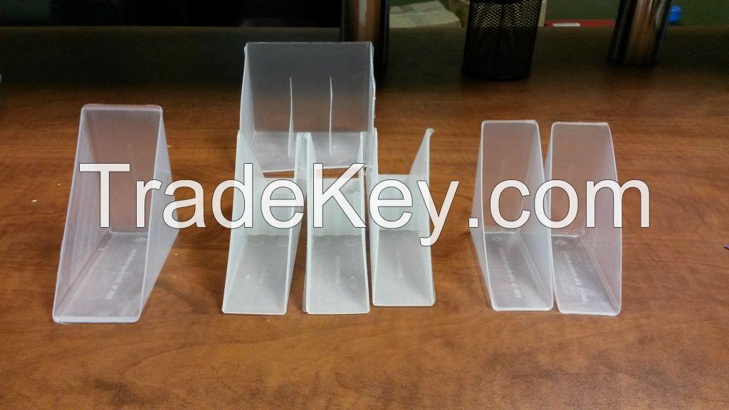 Plastic frame corner protectors