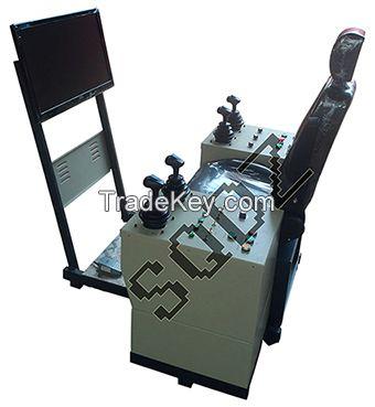 Overhead crane training simulator