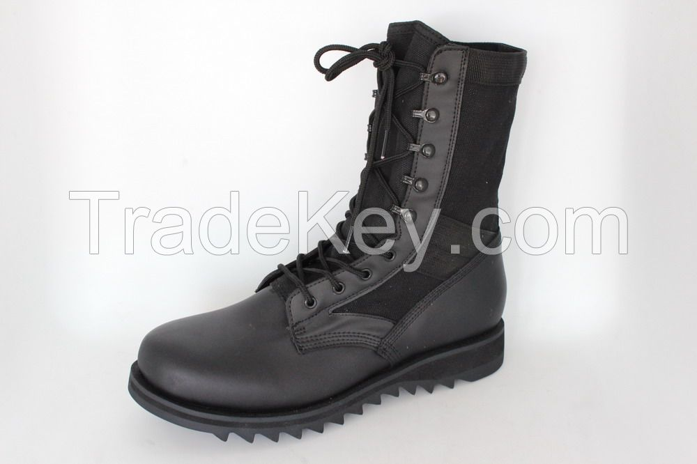 military boot with good quality MD sole