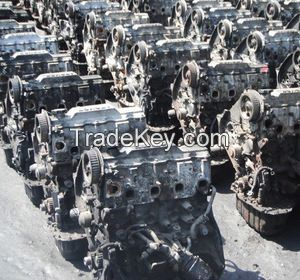 PURE GRADE A ALUMINUM ENGINE BLOCKS SCRAP AVAILABLE
