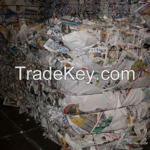 TOP GRADE A ALL TYPES OF WASTE / SCRAP ONP PAPERS - OCC,OMG, YELLOW PAGES, A3, A4 WASTE PAPERS FOR SALE