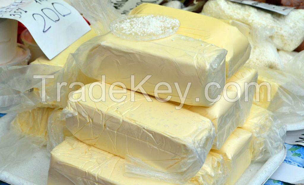 GRADE-A HIGH SALTED AND UNSALTED BUTTER 82%,UNSALTED LACTIC BUTTER PURE BUTTER