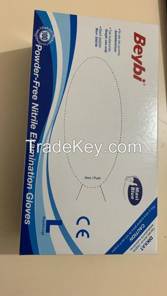 VERY CHEAP BEYBI NITRILE GLOVES AVAILABLE