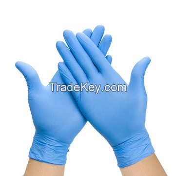 Total Care Nitrile Powder-Free Disposable Gloves - Blue - One Size - 40 Pack