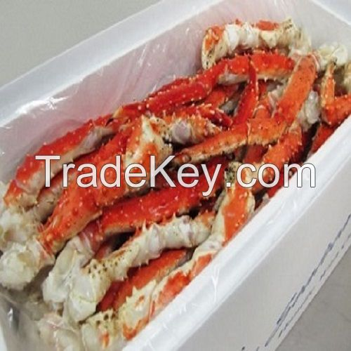 Frozen / Fresh Red Crabs King, King, Crab Legs, Live Red Crabs