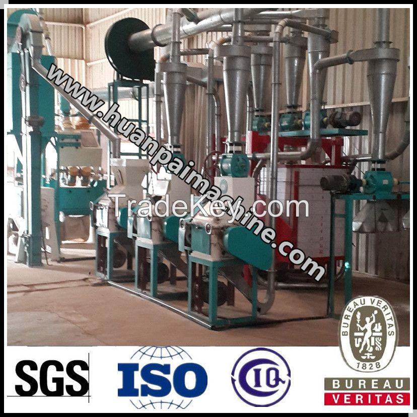 wheat mill machinery