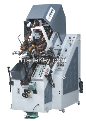Dashun brand DS618 Automatic Toe Lasting Machine