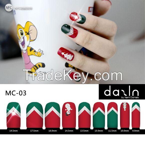 Dazln NFC Finger Nail Dazzling(LED) Stickers Set