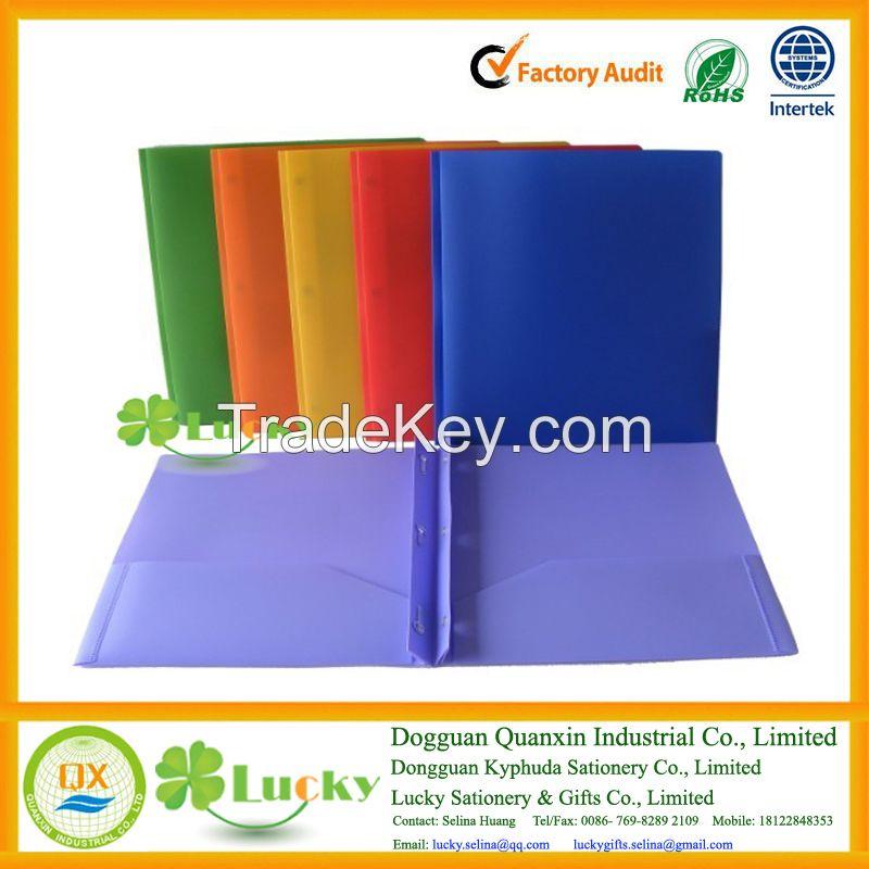 Colored 3 Prongs File Folder