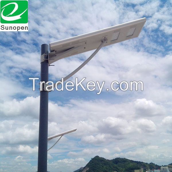 All in one solar led outdoor street lights