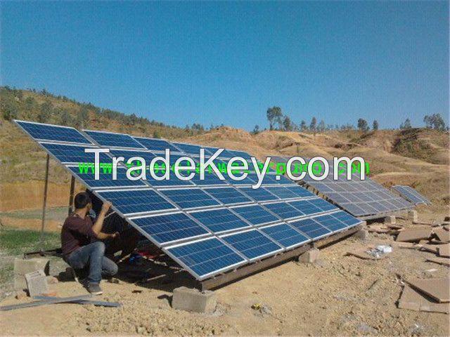 AC 380V/220V Three (3) Phase solar water pump system 750W/1500W solar energy pump 100M PV pump
