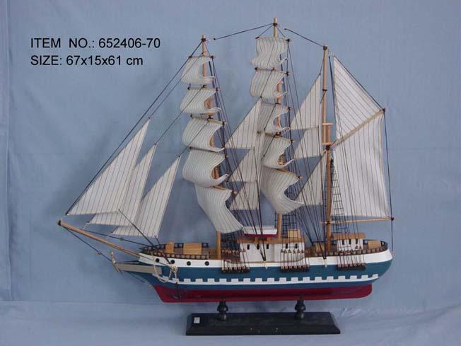 Classical Sailing Boat