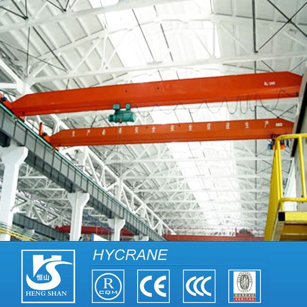 LD Model Workshop H beam rail traveling single beam bridge crane