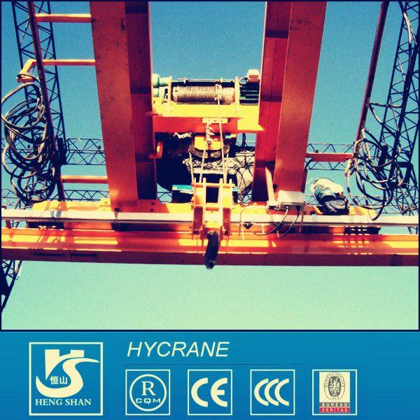 LH Model Electric Hoist Double Girder Overhead Crane