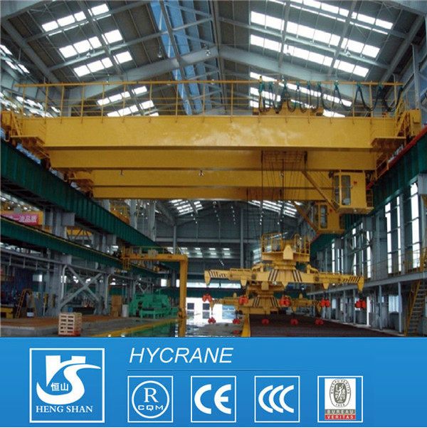 Magnetic Bridge Crane QC Model Electromagnetic Overhead Crane